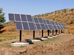 Solar pump agriculture service provider